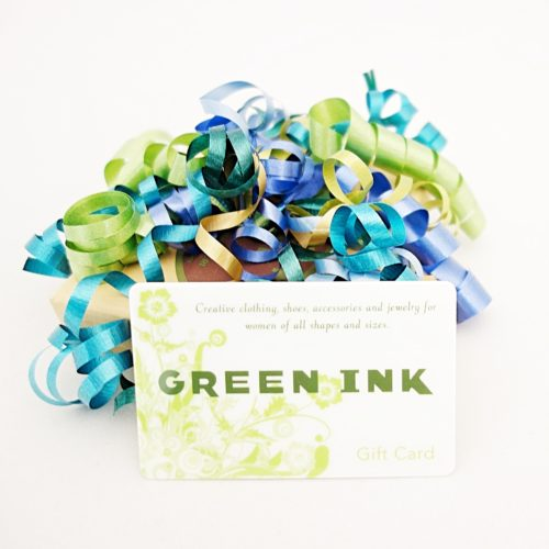 Green Ink Gift Cards with box